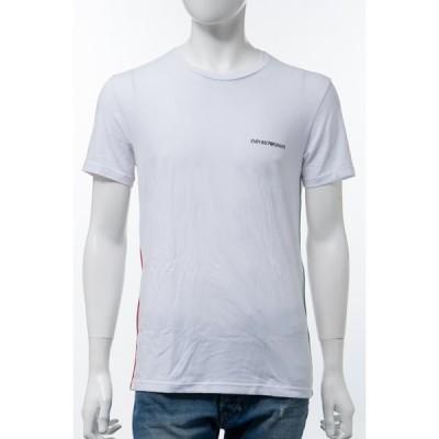 エンポリオアルマーニ Tシャツアンダーウェア 半袖 丸首 クルーネック メンズ 110853 0A510 ホワイト 2020年秋冬新作 Emporio Armani