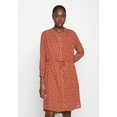 セレクテッドフェム ワンピース レディース トップス SFDAMINA DRESS  - Day dress - dark red