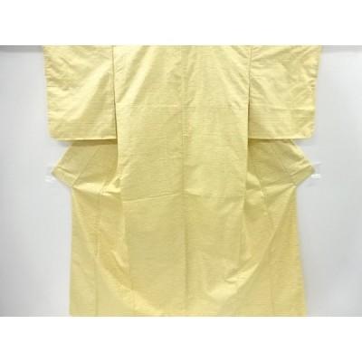 宗sou 未使用品 変わり横段織出手織り紬着物【リサイクル】【着】