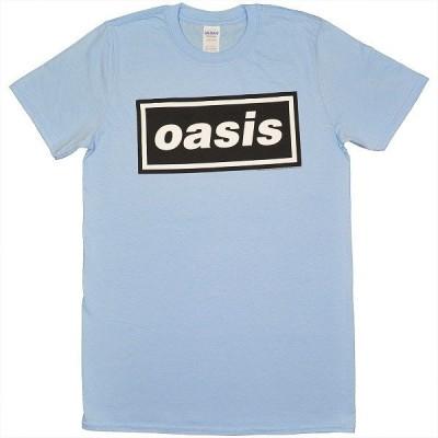 OASIS Decca Logo Tシャツ SKY BLUE