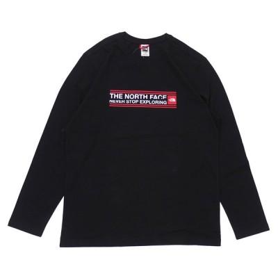 新品 ザ・ノースフェイス THE NORTH FACE Slice Pack L/S Tee ロンティー 長袖Tシャツ BLACK ブラック 黒 999006391041 TOPS