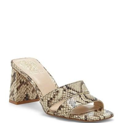 ヴィンスカムート レディース サンダル シューズ Tathela Snake Print Leather Dress Sandals