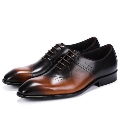 本革 ビジネスシューズ メンズ 革靴 カウハイド メンズシューズ 紳士靴 結婚式 フォーマル ビジネス レザー 通勤 新作