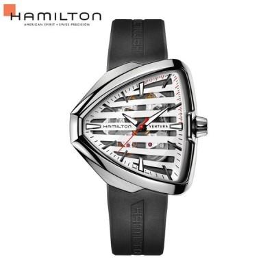 正規品 自動巻 ハミルトン HAMILTON 腕時計 メンズ ベンチュラ エルヴィス 80 スケルトン オート H24555381