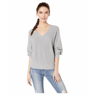 Michael Stars マイケルスターズ 服 スウェット Lanie Cotton Knit Long Sleeve Dolman V-Neck Pullover Sweater