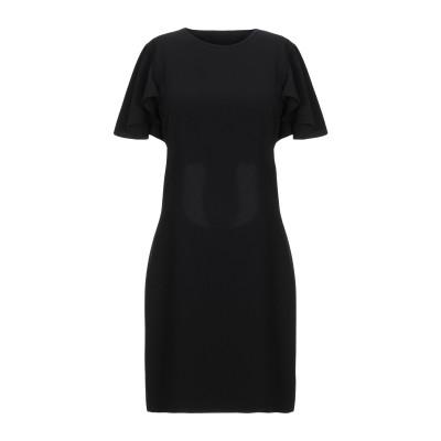 ピンコ PINKO ミニワンピース&ドレス ブラック 40 ポリエステル 100% ミニワンピース&ドレス