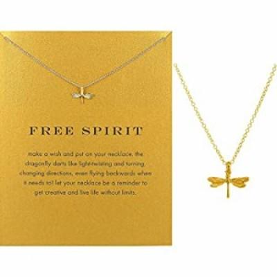 三角形鎖骨ネックレス 祝福カード付き 小型で華奢なペンダント 繊細で上品なコスチューム チョーカー ジュエリー 記念品 合金 Dragonfly
