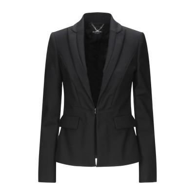 MARCIANO テーラードジャケット ブラック 38 コットン 52% / ナイロン 45% / ポリウレタン 3% テーラードジャケット