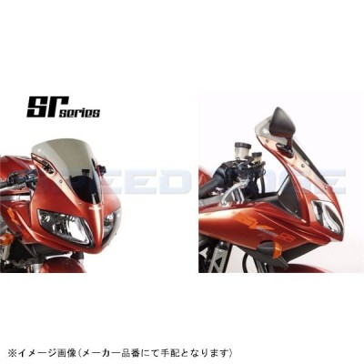[2015719] ZERO GRAVITY スクリーン SRタイプ ダークスモーク SV650S/SV1000S 03-10
