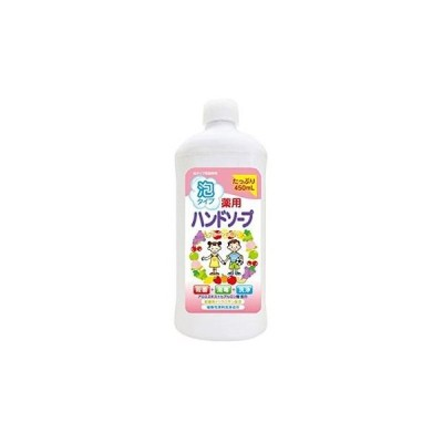 薬用ハンドソープ フルーツ 詰替用ボトル 450ml/ ロケット石鹸
