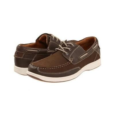 Florsheim フローシャイム メンズ 男性用 シューズ 靴 ボートシューズ Lakeside Ox - Brown Nubuck