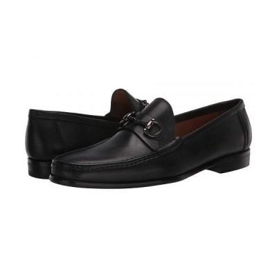 Massimo Matteo マッシオマッテオ メンズ 男性用 シューズ 靴 ローファー Almansa Moccasin Bit - Black