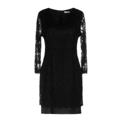 レリッシュ RELISH ミニワンピース&ドレス ブラック 42 ナイロン 90% / ポリウレタン 10% ミニワンピース&ドレス