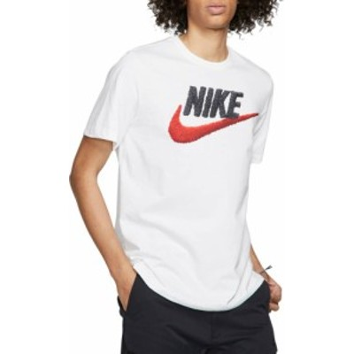 ナイキ メンズ Nike Sportswear Futura T-Shirt Tシャツ 半袖 WHITE/BLACK