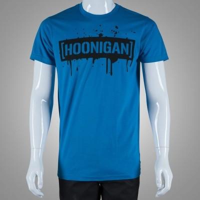 フーニガン スプラッターセンサーバー ブルー  Tシャツ