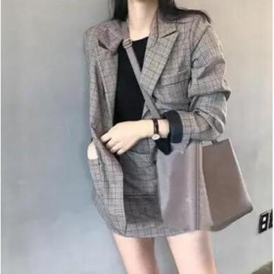 韓国ファッション セット 韓国風 レディース 春 薄い