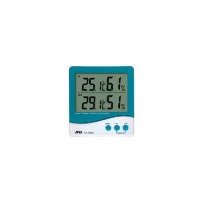A&D デュアルチャンネル温度・湿度計 AD5648A 1個 (メーカー直送)