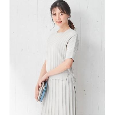 <ICB(Women)/アイシービー> Paper Cotton ニット(KRCYBM0414) クリーム【三越伊勢丹/公式】