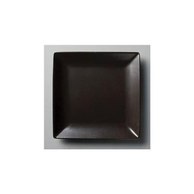 洋陶器 オープン/マイルドスクエアNB 25cm正角メタ(黒) [25.5 x 25.5 x 2.8cm] (NB) 料亭 旅館 和食器 飲食店 業務用