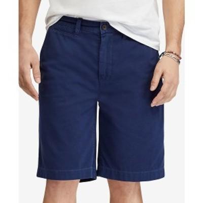 """ラルフローレン メンズ カジュアルパンツ ボトムス Men's Relaxed Fit Twill 10"""" Short Newport Navy"""