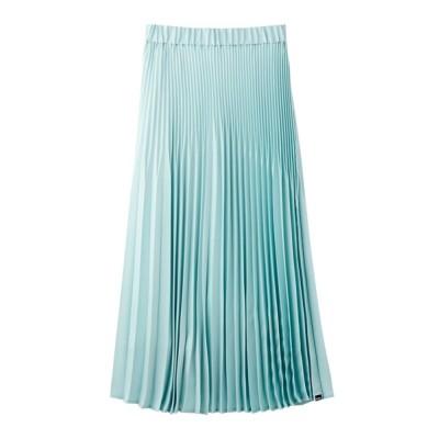 MILKFED. / GLOSSY  PLEATED SKIRT WOMEN スカート > スカート