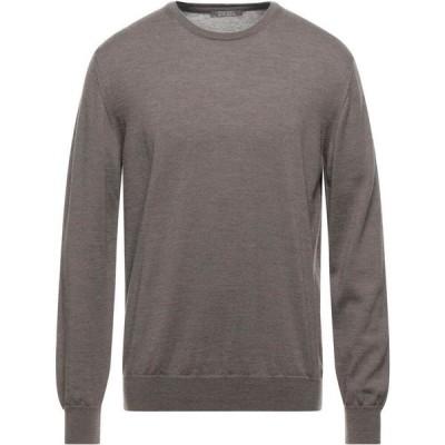 アンドレア フェンツィ ANDREA FENZI メンズ ニット・セーター トップス Sweater Light brown