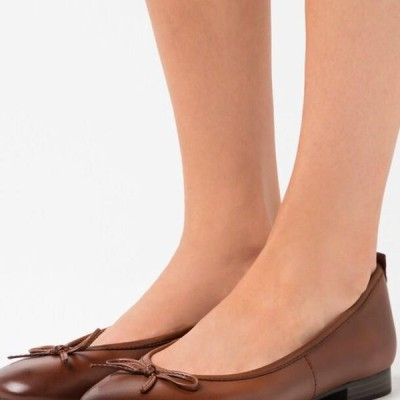 タマリス レディース 靴 シューズ Ballet pumps - brandy
