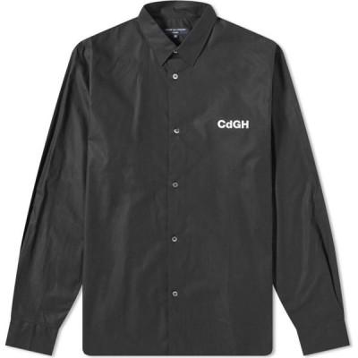 コム デ ギャルソン Comme des Garcons Homme メンズ シャツ トップス cdgh logo shirt Black/White
