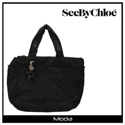クロエ ハンドバッグ レディース ブランド 黒 ブラック Chloe See by Chloe