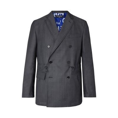 コム デ ギャルソン・シャツ COMME des GARÇONS テーラードジャケット グレー M ウール 85% / モヘヤ 15% テーラードジ