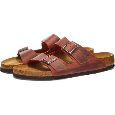 ビルケンシュトック Birkenstock メンズ サンダル シューズ・靴 arizona sfb Earth Red Oiled Leather