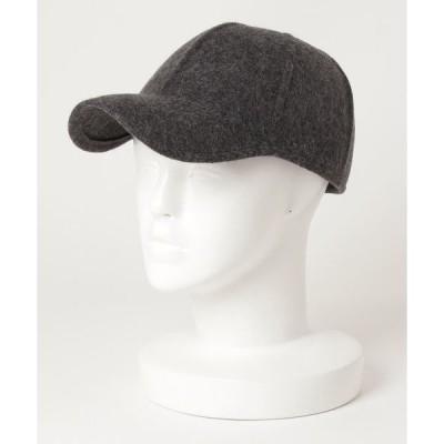 帽子 キャップ GRILLO: ウール フェルト キャップ