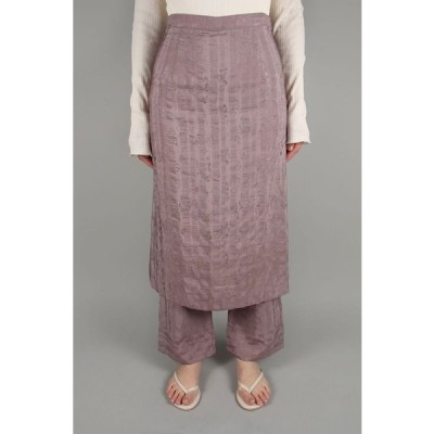 Layered Jacquard Skirt-LAVENDER(12010804) Todayful(トゥデイフル)