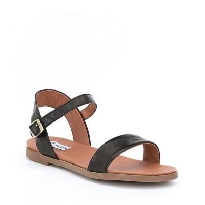スティーブ マデン レディース サンダル シューズ Dina Leather Banded Sandals