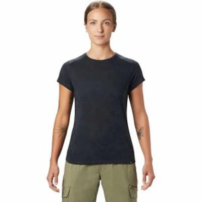 マウンテンハードウェア Mountain Hardwear レディース Tシャツ トップス Right On SS Tee Dark Storm