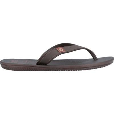 カルタゴ CARTAGO メンズ ビーチサンダル シューズ・靴 Flip Flops Dark brown