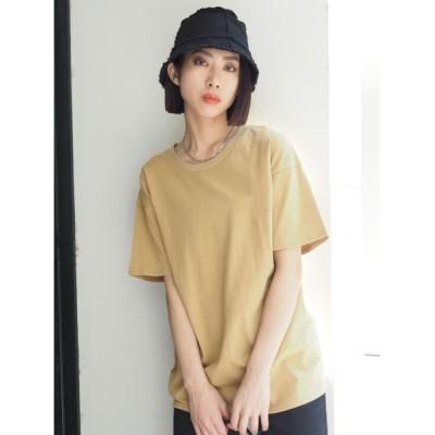 EMODA / バックプリントルーズTシャツ WOMEN トップス > Tシャツ/カットソー