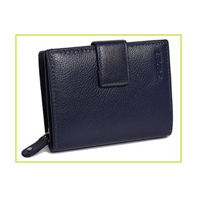 SADDLER レディース バイフォルダークレジットカードウォレット(財布) 3サイドジッパーコイン入れ付き