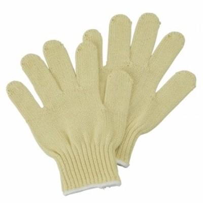 手袋 アラミド厚手軍手 サイズ:M (安全用品・標識/身に付ける安全用品)