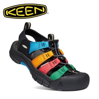 KEEN キーン NEWPORT H2 ニューポートエイチツー MULTI/BLACK 1022259 【サンダル/メンズ/アウトドア/レジャー】