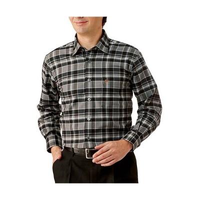 送料無料「キンロック バイ キンロックアンダーソン 日本製チェック柄長袖シャツ(全2色) メンズ トップス 紳士服 シニア」 p17521