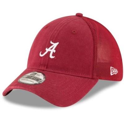 ユニセックス スポーツリーグ アメリカ大学スポーツ Alabama Crimson Tide New Era Team Precision 39THIRTY Flex Hat - Crimson