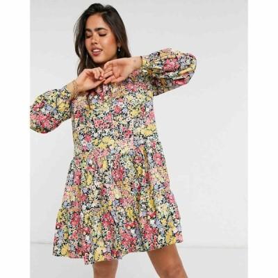 ウェアハウス Warehouse レディース ワンピース Aライン ワンピース・ドレス Sophia Floral Tiered Dress In Multi マルチカラー