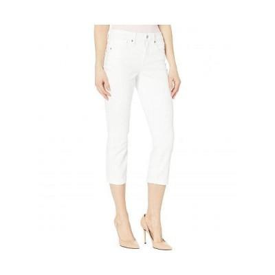 NYDJ エヌワイディージェー レディース 女性用 ファッション ジーンズ デニム Chloe Capri Jeans in Optic White - Optic White