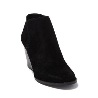 ラッキーブランド レディース ブーツ&レインブーツ シューズ Yimme Wedge Heel Boot BLACK 01