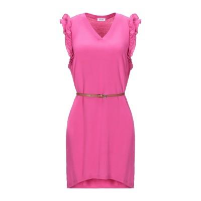リュー ジョー LIU •JO ミニワンピース&ドレス パープル S シルク 100% / レーヨン / ポリウレタン ミニワンピース&ドレス