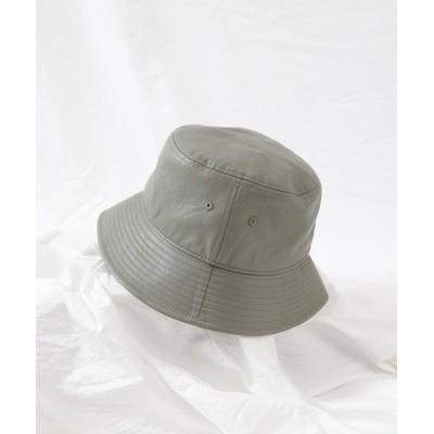 COLONY 2139 / 合皮バケットハット2/フェイクレザーバケットハット WOMEN 帽子 > ハット