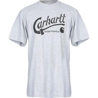 カーハート CARHARTT メンズ Tシャツ トップス T-Shirt Light grey