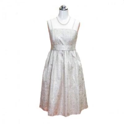 パーティードレス フォーマルドレス ホワイトドレス 9号 P115