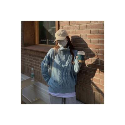 【送料無料】秋冬 韓国風 何でも似合う ルース ウルトラ 仙 ツイスト ヘッジ ジッ   346770_A64143-5544482